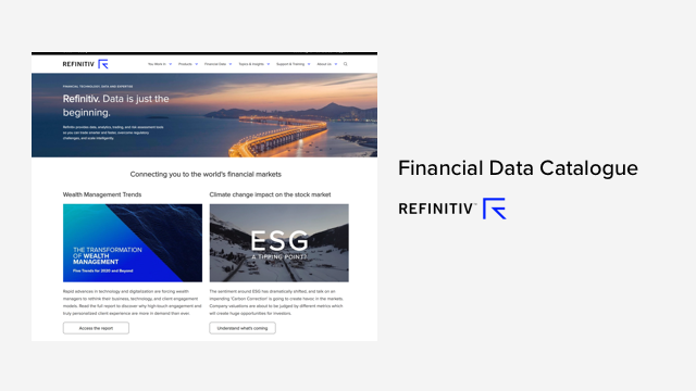 Financial Data Catalogue