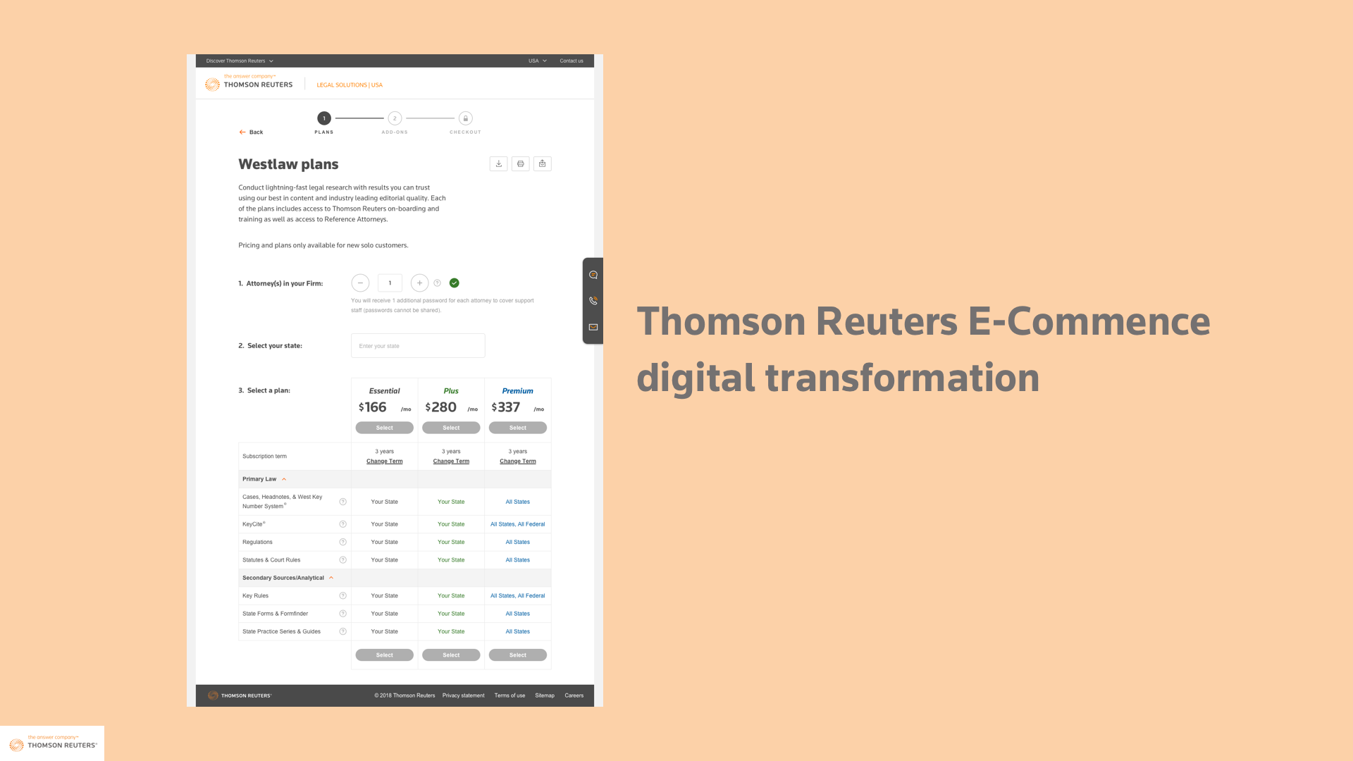 Thomson Reuters digital transformation